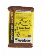 WEBER SET RAPID SPF WHITE OR GREY LOW DUST TECHNOLOGY TILE ADHESIVE 20KG